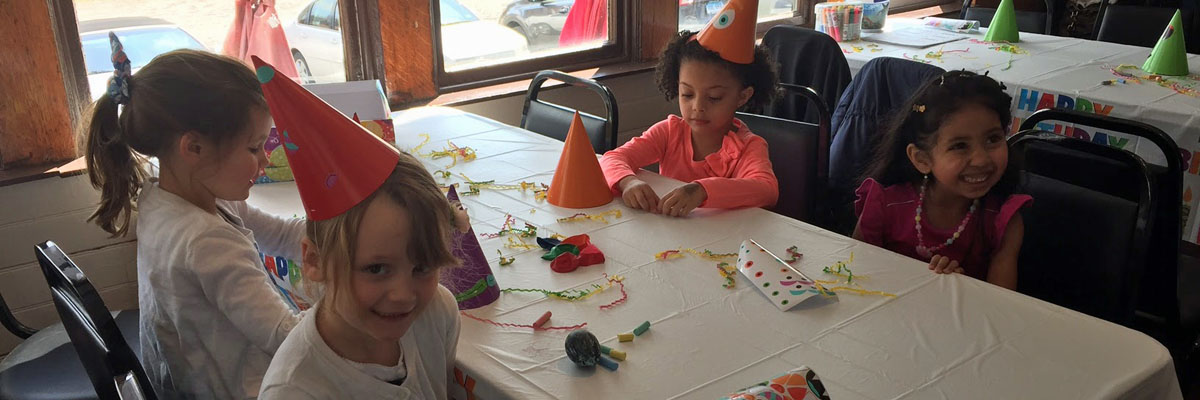 Creative and unique birthday party destination at the Connecticut Trolley Museum!