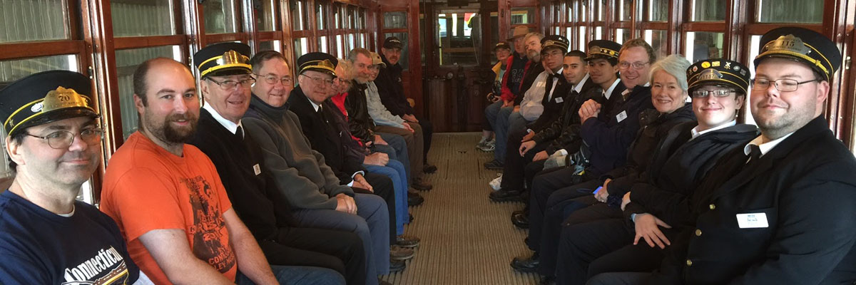 Our volunteer motormen bring you on a journey to yesteryear